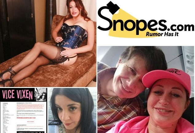 Prostitutes for the Presstitutes: SNOPES fact-checkers revealed to be actual whores, fraudsters and deviant left-wing fetish bloggers